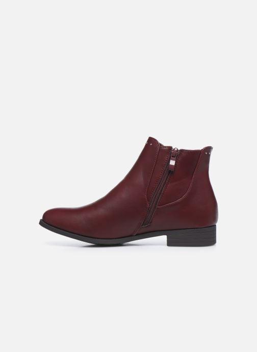 Botines  I Love Shoes WOFALY Vino vista de frente