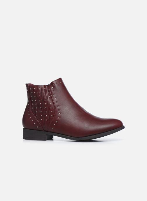 Botines  I Love Shoes WOFALY Vino vistra trasera