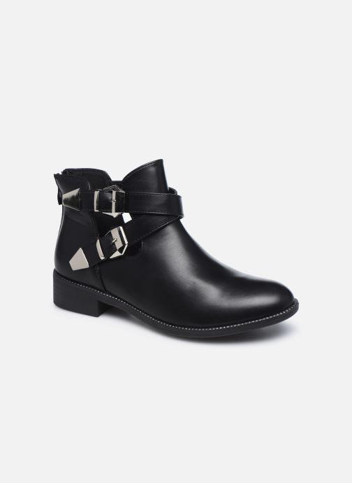 Botines  I Love Shoes WOVERO Negro vista de detalle / par