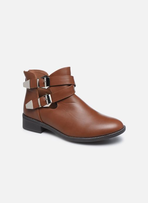 Boots en enkellaarsjes I Love Shoes WOVERO Bruin detail