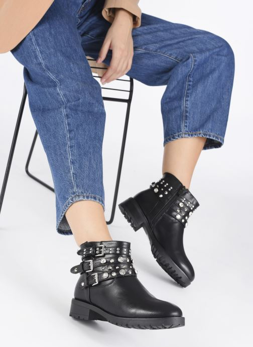 Stivaletti e tronchetti I Love Shoes WOUSTEO Nero immagine dal basso