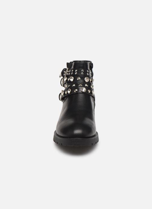 Stivaletti e tronchetti I Love Shoes WOUSTEO Nero modello indossato