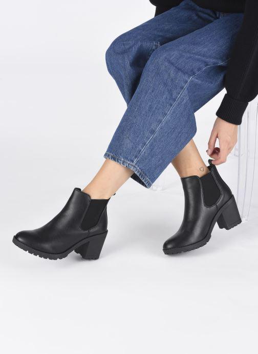 Stivaletti e tronchetti I Love Shoes WOTINA Nero immagine dal basso