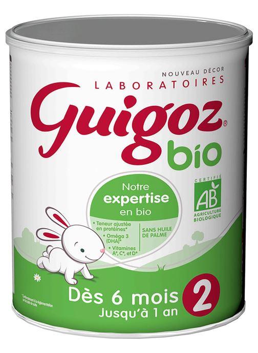 Produits d'entretien Guigoz Guigoz 2 Bio 800G 2Age Blanc vue détail/paire
