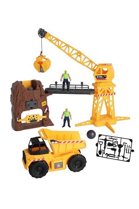 Divers City CITY - Set de jeu géant Mine Multicolore vue détail/paire