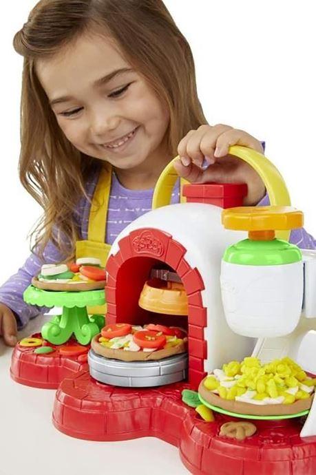 Divers Hasbro Play-Doh La Pizzeria Multicolore vue droite