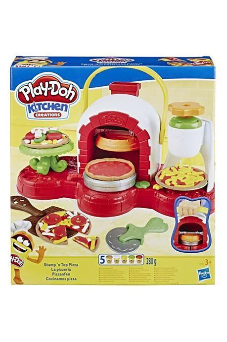 Divers Hasbro Play-Doh La Pizzeria Multicolore vue détail/paire