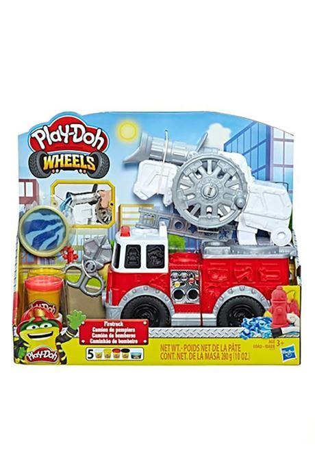 Divers Hasbro Play-Doh Camion Pompier Multicolore vue détail/paire