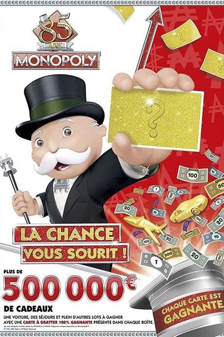 Divers Hasbro Monopoly junior 85 Multicolore vue derrière