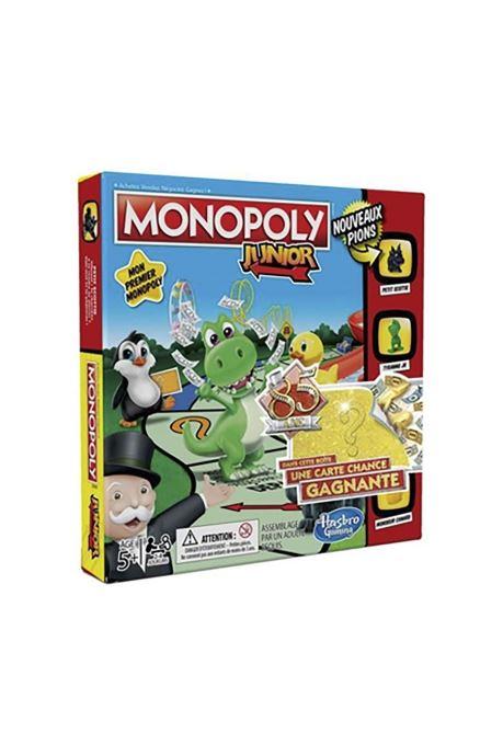 Divers Hasbro Monopoly junior 85 Multicolore vue détail/paire
