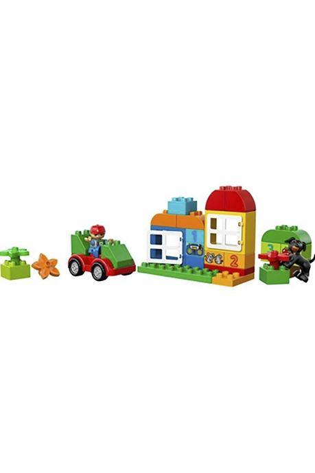Divers Lego LEGO DUPLO 10572 Grande Boite Multicolore vue portées chaussures