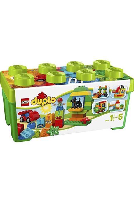 Divers Lego LEGO DUPLO 10572 Grande Boite Multicolore vue détail/paire