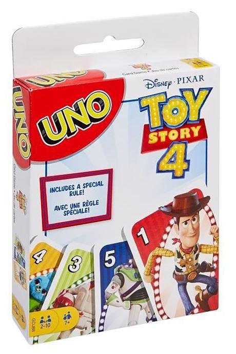 Divers Mattel Games UNO Toy Story 4 Multicolore vue détail/paire