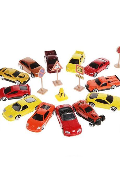Divers Voitures Miniatures Lot de petites voitures Multicolore vue face