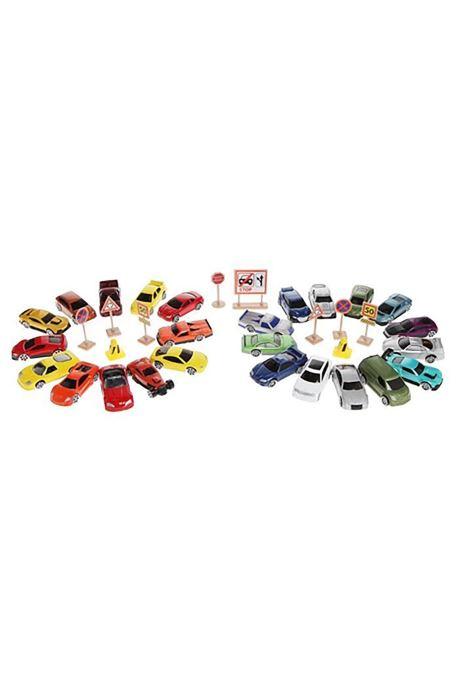 Divers Voitures Miniatures Lot de petites voitures Multicolore vue détail/paire