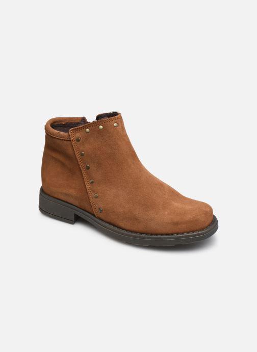 Bottines et boots Rose et Martin BEATRICE LEATHER Marron vue détail/paire