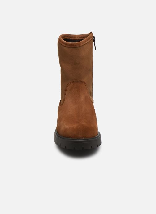 Bottines et boots Rose et Martin BRIDGET LEATHER Marron vue portées chaussures