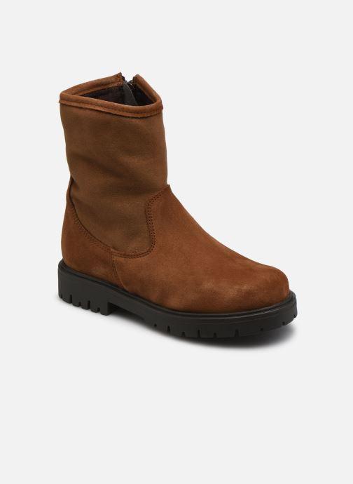 Bottines et boots Rose et Martin BRIDGET LEATHER Marron vue détail/paire