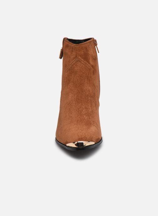Stiefeletten & Boots I Love Shoes DIANA braun schuhe getragen
