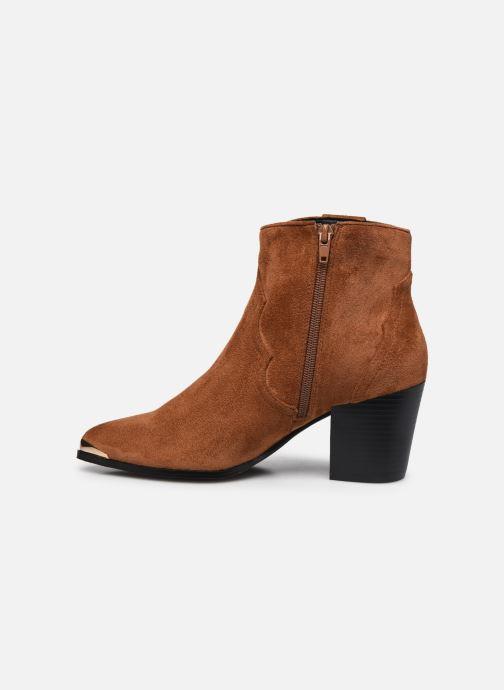 Stiefeletten & Boots I Love Shoes DIANA braun ansicht von vorne