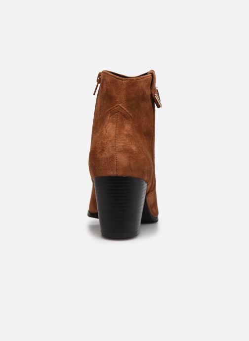 Stiefeletten & Boots I Love Shoes DIANA braun ansicht von rechts