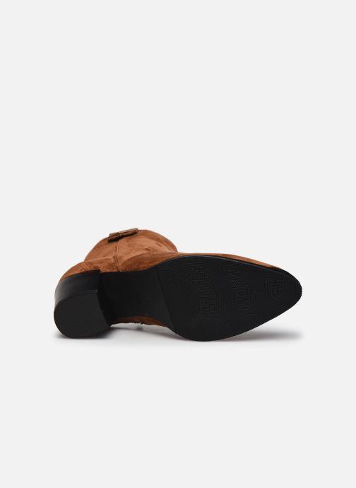 Stiefeletten & Boots I Love Shoes DIANA braun ansicht von oben