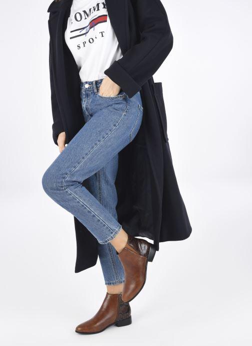 Bottines et boots I Love Shoes DEBORAH Marron vue bas / vue portée sac