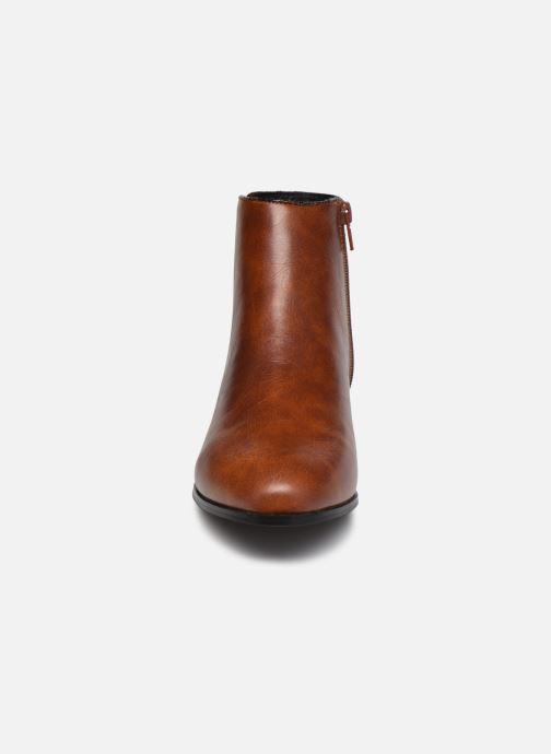 Bottines et boots I Love Shoes DEBORAH Marron vue portées chaussures