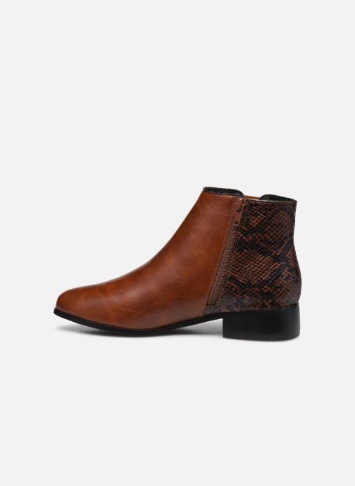 Bottines et boots I Love Shoes DEBORAH Marron vue face