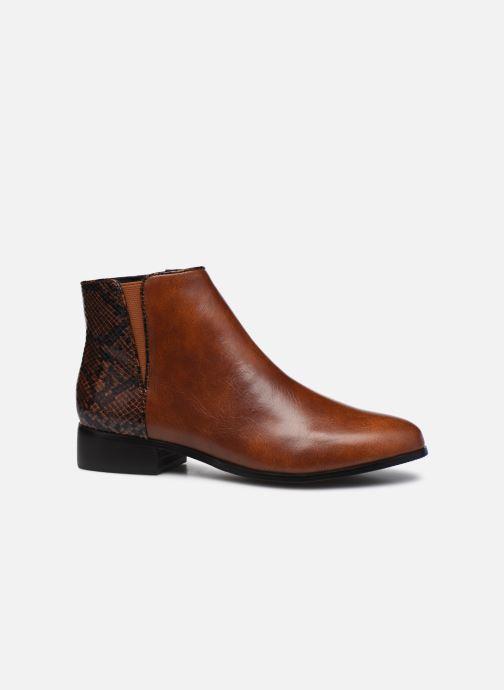 Bottines et boots I Love Shoes DEBORAH Marron vue derrière