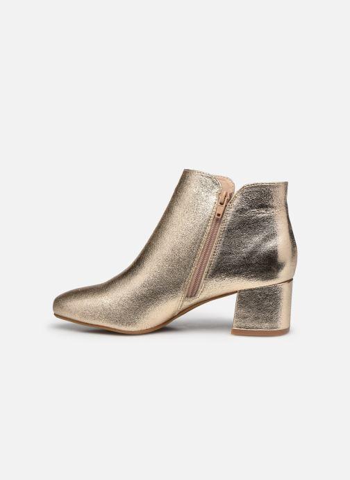 Bottines et boots I Love Shoes DELPHINE Or et bronze vue face