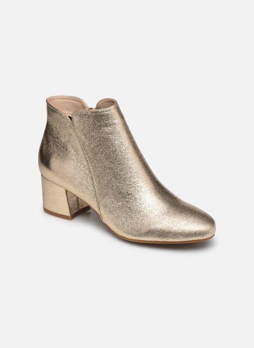 Bottines et boots I Love Shoes DELPHINE Or et bronze vue détail/paire
