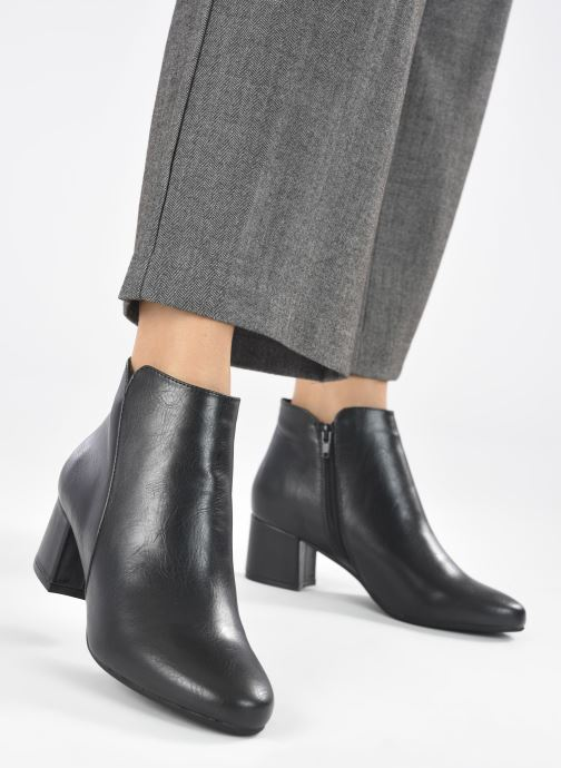 Botines  I Love Shoes DELPHINE Negro vista de abajo