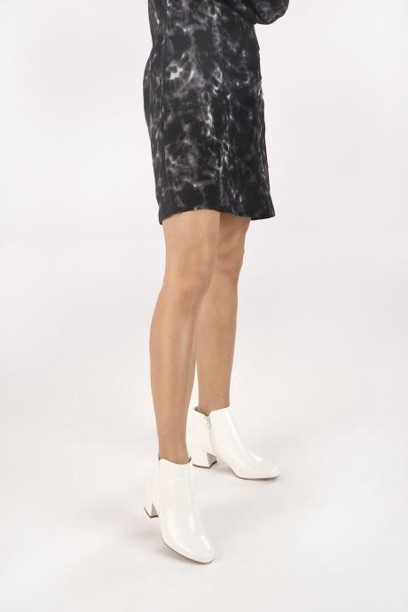 Bottines et boots I Love Shoes DELPHINE Blanc vue bas / vue portée sac