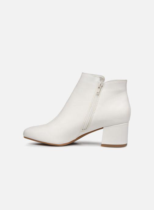 Bottines et boots I Love Shoes DELPHINE Blanc vue face