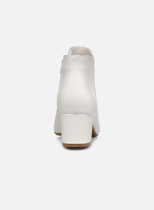 Bottines et boots I Love Shoes DELPHINE Blanc vue droite