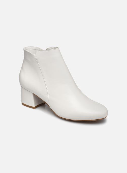 Boots en enkellaarsjes I Love Shoes DELPHINE Wit detail