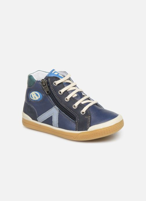 Bottines et boots Babybotte B3 Lacet V Bleu vue détail/paire