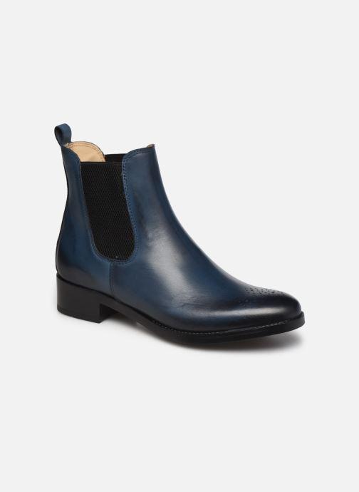 Ankelstøvler Georgia Rose Noy Blå detaljeret billede af skoene