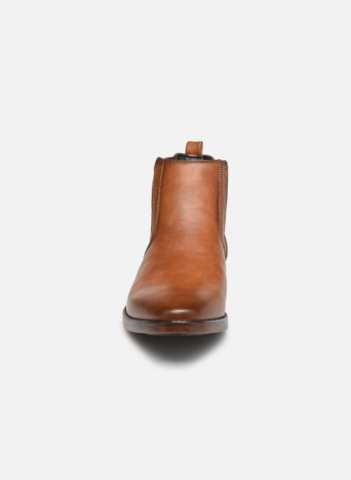 Stivaletti e tronchetti I Love Shoes KAMAL Marrone modello indossato