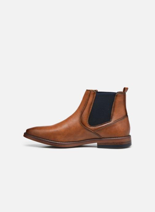 Stivaletti e tronchetti I Love Shoes KAMAL Marrone immagine frontale