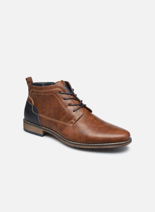 Bottines et boots I Love Shoes KALEO Marron vue détail/paire