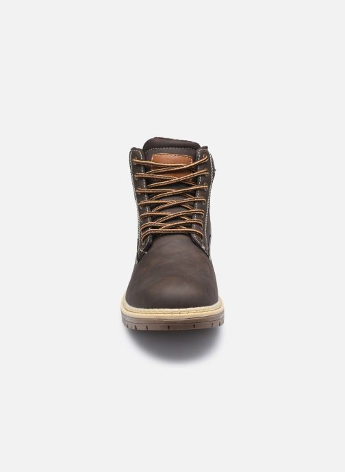 Stiefeletten & Boots I Love Shoes KERONA braun schuhe getragen