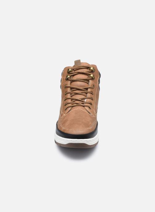 Stiefeletten & Boots I Love Shoes KASPOR braun schuhe getragen