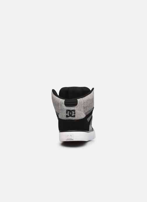 Deportivas DC Shoes Pure High-Top II Gris vista lateral derecha