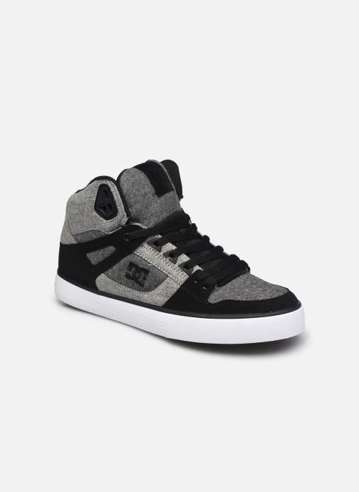 Baskets DC Shoes Pure High-Top II Gris vue détail/paire