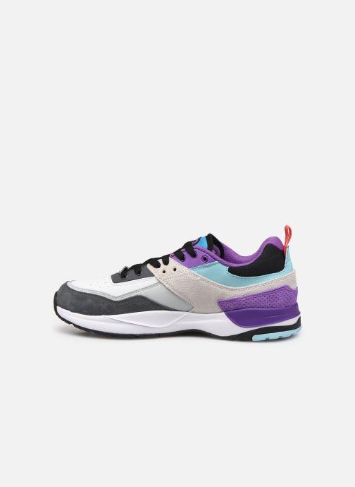 Deportivas DC Shoes E.Tribeka Se Blanco vista de frente
