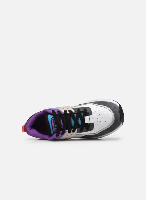 Deportivas DC Shoes E.Tribeka Se Blanco vista lateral izquierda