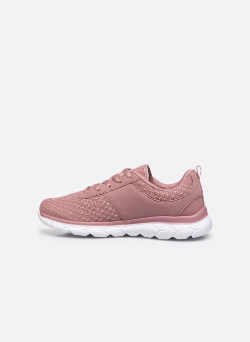 Sneaker Kangaroos KN-Bumpy rosa ansicht von vorne