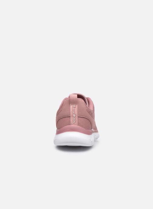 Sneaker Kangaroos KN-Bumpy rosa ansicht von rechts